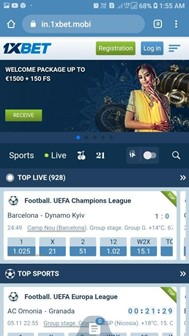 1xbet mobile 1