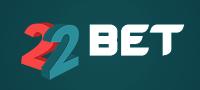 22Bet online gambling brand logo