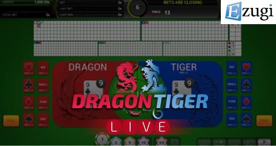 Dragon Tiger By Ezugi – Game review